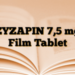 ZYZAPIN 7,5 mg Film Tablet