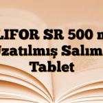 GLIFOR SR 500 mg Uzatılmış Salımlı Tablet