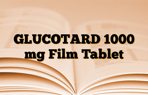 GLUCOTARD 1000 mg Film Tablet