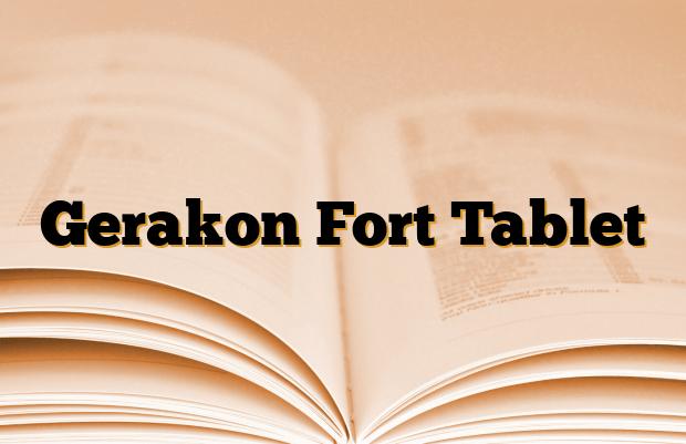 Gerakon Fort Tablet