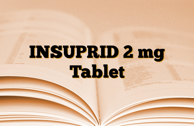 INSUPRID 2 mg Tablet