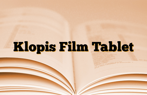 Klopis Film Tablet