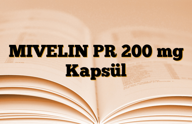 MIVELIN PR 200 mg Kapsül