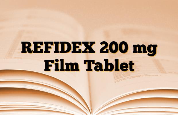 REFIDEX 200 mg Film Tablet
