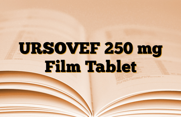 URSOVEF 250 mg Film Tablet