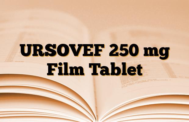 URSOVEF 250 mg Film Tablet