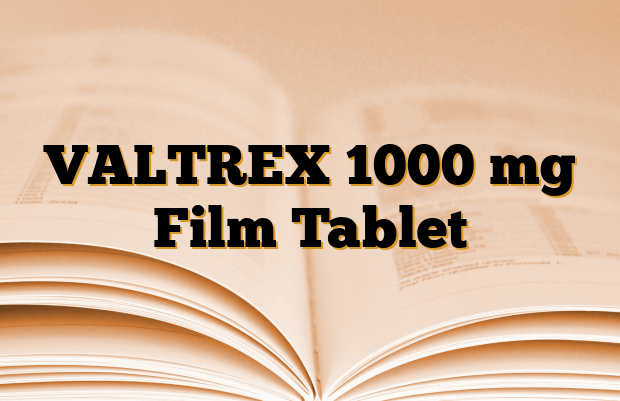 VALTREX 1000 mg Film Tablet