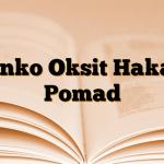 Çinko Oksit Hakay Pomad