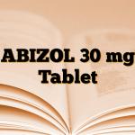 ABIZOL 30 mg Tablet