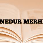 ACNEDUR MERHEM