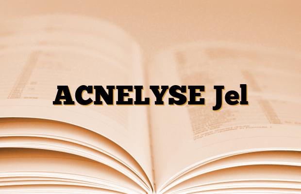 ACNELYSE Jel