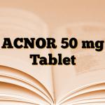 ACNOR 50 mg Tablet