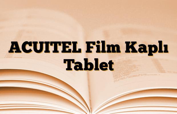 ACUITEL Film Kaplı Tablet