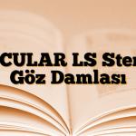 ACULAR LS Steril Göz Damlası