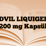 ADVIL LIQUIGELS 200 mg Kapsül