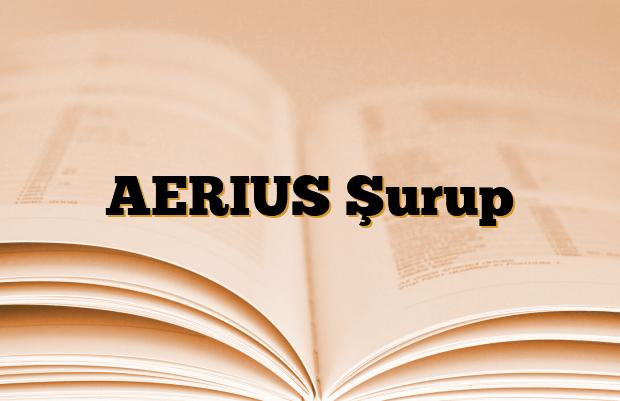 AERIUS Şurup