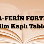 A-FERİN FORTE Film Kaplı Tablet
