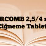 AIRCOMB 2,5/4 mg Çiğneme Tableti