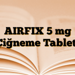 AIRFIX 5 mg Çiğneme Tableti