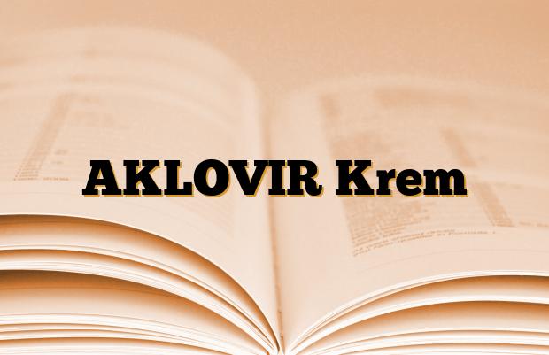 AKLOVIR Krem
