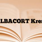 ALBACORT Krem