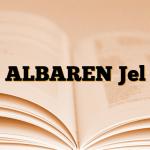 ALBAREN Jel