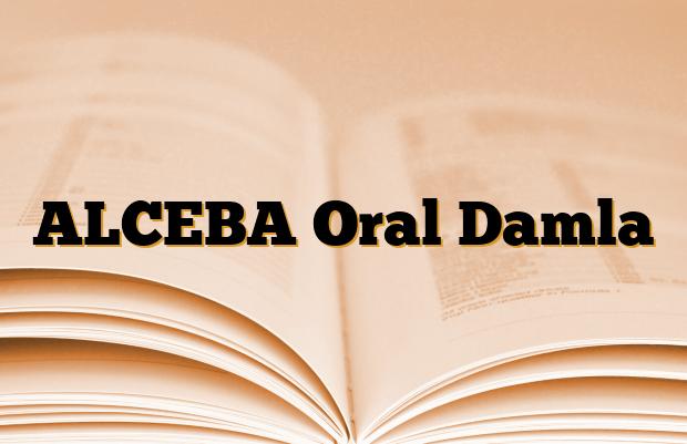 ALCEBA Oral Damla