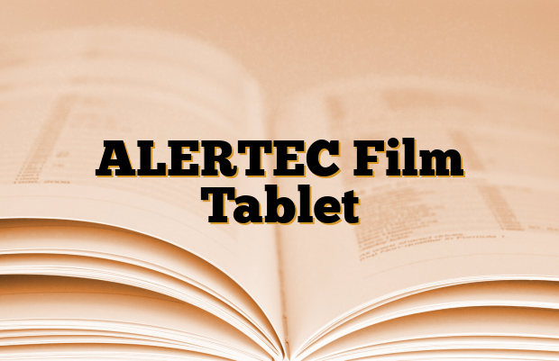 ALERTEC Film Tablet