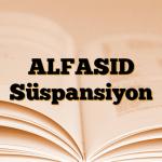 ALFASID Süspansiyon