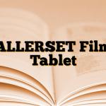 ALLERSET Film Tablet