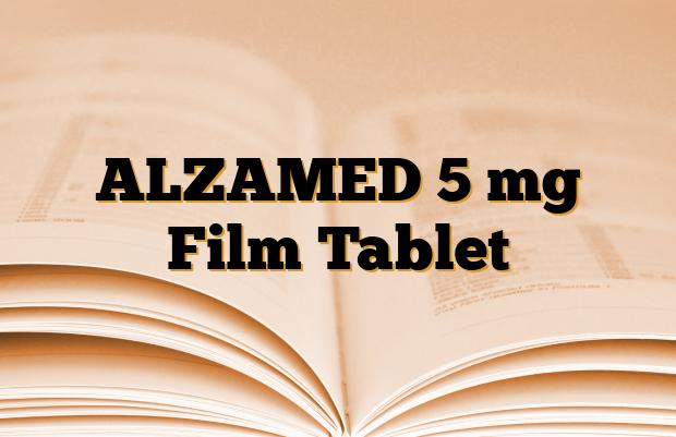 ALZAMED 5 mg Film Tablet