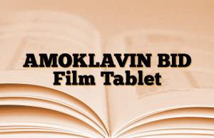 AMOKLAVIN BID Film Tablet