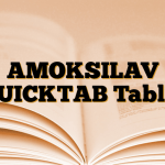 AMOKSILAV QUICKTAB Tablet
