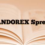 ANDOREX Sprey