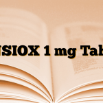ANSIOX 1 mg Tablet