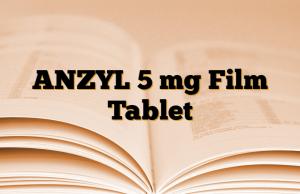 ANZYL 5 mg Film Tablet