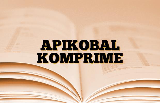 APIKOBAL KOMPRIME