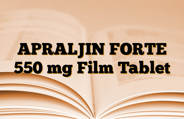APRALJIN FORTE 550 mg Film Tablet