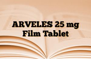 ARVELES 25 mg Film Tablet