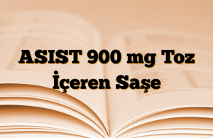 ASIST 900 mg Toz İçeren Saşe
