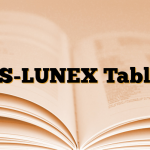 AS-LUNEX Tablet