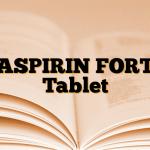 ASPIRIN FORT Tablet