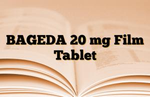 BAGEDA 20 mg Film Tablet