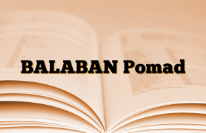BALABAN Pomad