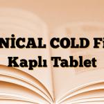 BENİCAL COLD Film Kaplı Tablet