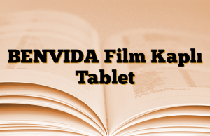 BENVIDA Film Kaplı Tablet