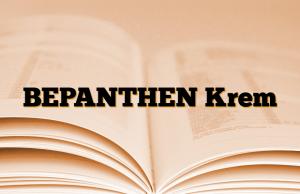 BEPANTHEN Krem