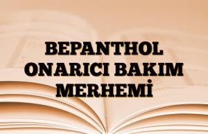 BEPANTHOL ONARICI BAKIM MERHEMİ