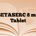 BETASERC 8 mg Tablet