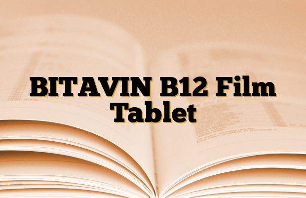 BITAVIN B12 Film Tablet